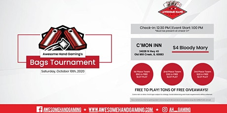 Bags Tournament at C'Mon Inn tickets