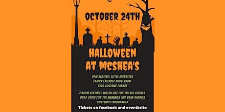Halloween at Mcshea's tickets