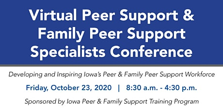 Peer & Family Peer Support Specialist Virtual Conference tickets