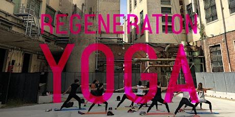 Regeneration YOGA / Mer e Ven 13:15-14:15 biglietti