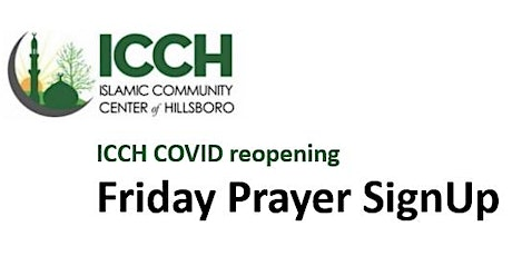 ICCH Friday Prayer - 10/9/2020 tickets