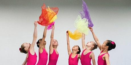 Creative Dance for Children ages 3 & 4 years old via Zoom for Culture Days tickets