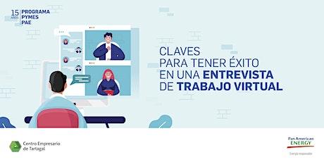 Tartagal | Claves para tener éxito en una entrevista de trabajo virtual entradas