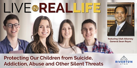 Live in Real Life with Utah Attorney General Sean Reyes tickets