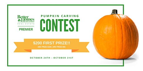 BHGRE Premier Pumpkin Carving Contest!! tickets