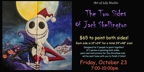Paint Night: The Two Sides of Jack Skellington tickets