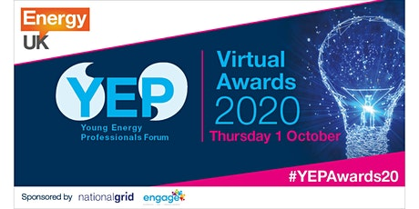 Energy UK Young Energy Professional Awards 2020 tickets