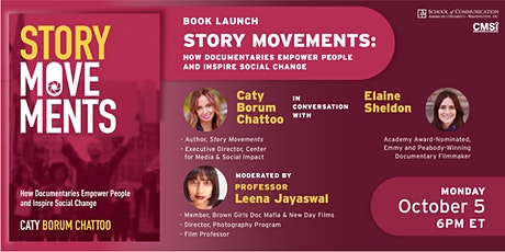 BOOK LAUNCH: Story Movements: How Documentaries Empower People and Inspire tickets