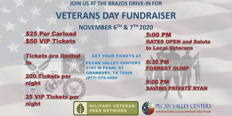 Veteran's Day Drive-in Fundraiser tickets