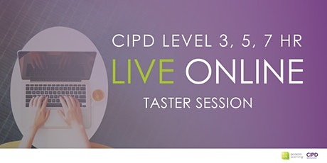 CIPD HR Live Online Training Course Taster Session with Acacia Learning tickets
