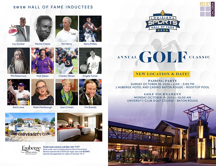 LSHOF Annual Golf Classic presented by Relief Windows image
