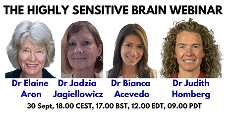 The Highly Sensitive Brain Webinar with Elaine Aron and colleagues tickets