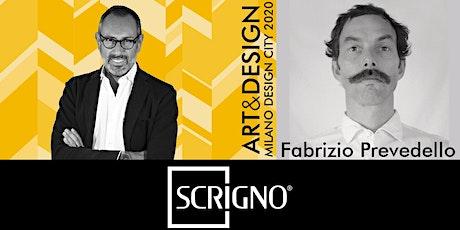 TALK ART&DESIGN | Scrigno e Fabrizio Prevedello biglietti