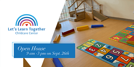 Let's Learn Together Open House tickets