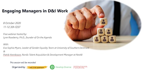 Engaging Managers in Diversity and Inclusion Work tickets