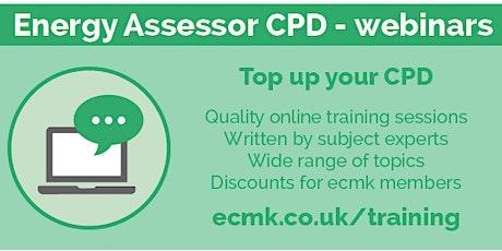 Smarter Surveys - The  Smart EPC app - CPD Webinar tickets