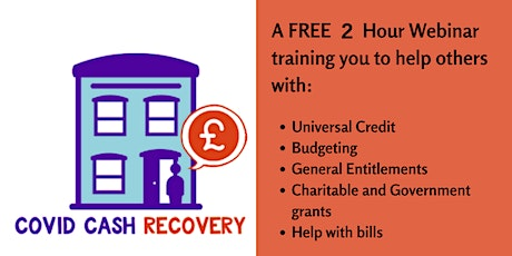 COVID Cash Recovery(West Mids)  Train the Trainer Session 27 October 2020 tickets