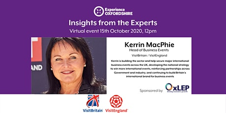 Insights from the Experts : Kerrin MacPhie, Business Events Visit Britain tickets
