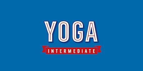 Intermediate Yoga tickets