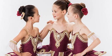 Ballet class for Children ages 7 &  8 years old via Zoom for Culture Days tickets