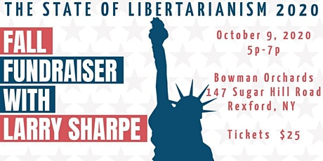 Fall Fundraiser With Larry Sharpe tickets
