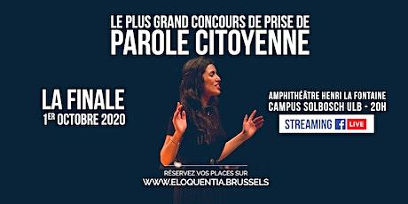 Eloquentia Bruxelles | La Finale billets