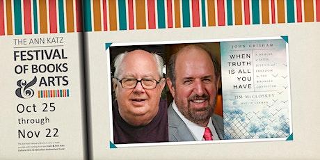 Virtual Ann Katz Festival: Jim McCloskey with Philip Lerman tickets