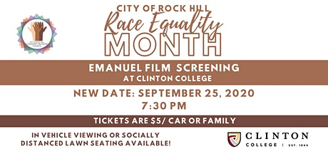 Race Equality Month Emanuel Film Screening tickets