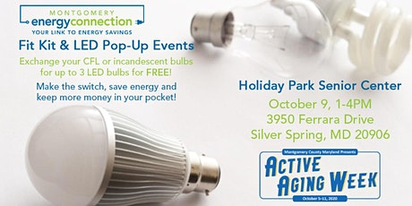 Active Aging Week: Fit Kit & LED Pop-Up at Holiday Park Senior Center tickets