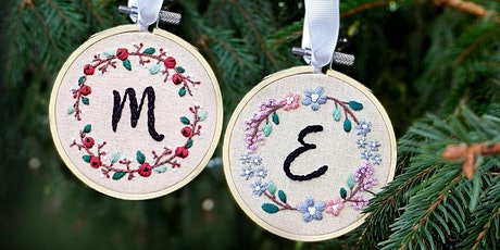Custom Embroidery Ornament Workshop tickets