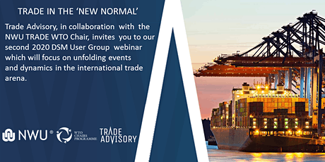 Trade Advisory - NWU TRADE WTO Chair webinar tickets