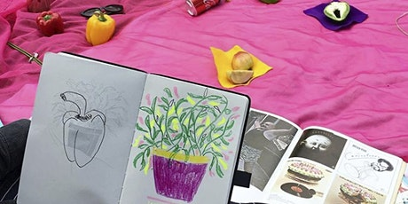 The Draw Ring: Relaxing Zine-Making Workshop tickets