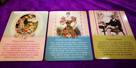 Angel/Oracle Card Reading Class tickets