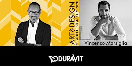 TALK ART&DESIGN | Duravit e Vincenzo Marsiglia biglietti