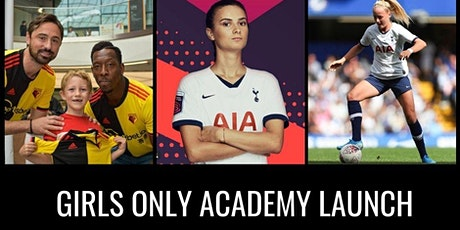 Free Skills Session with Watford Legend Tommy Smith, Chloe Peplow For Girls tickets