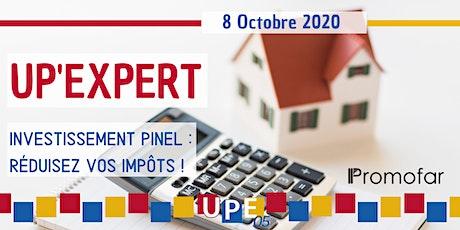 UP'EXPERT | à Gap -  Investissement PINEL : Réduisez vos impôts ! billets