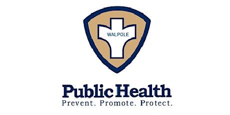 Town of Walpole Public Flu Clinic tickets