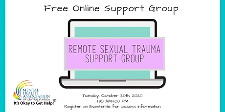Online Sexual Trauma Support Group tickets