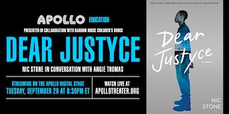 Apollo Education: Dear Justyce tickets