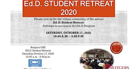 Ed.D. 2020  Student Retreat tickets
