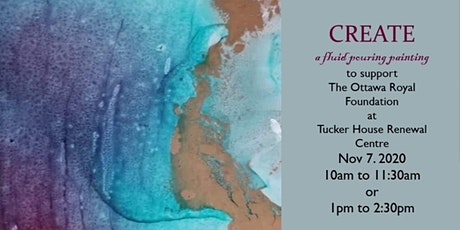 Fluid Paint Fundraiser Workshop for the Ottawa Royal Foundation Centre tickets