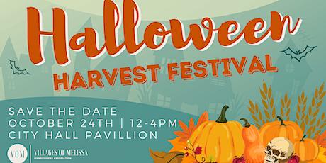 Villages of Melissa HOA Halloween Harvest Festival tickets