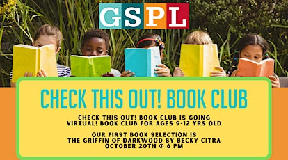 Check this out! Book Club tickets