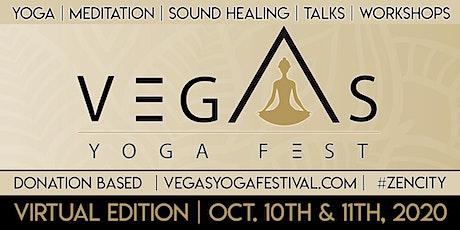 Vegas Yoga Festival Virtual Experience tickets