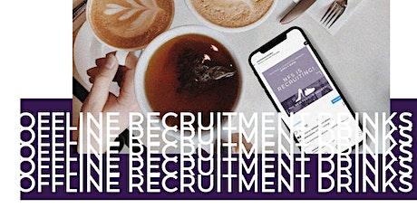 NFS Recruitment Drinks timeslot 3 tickets