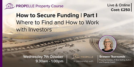 Property Course | Where to Find and How to Work with Investors tickets