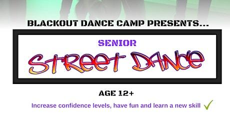 Blackout Dance Camp - Senior Street Dance Class tickets