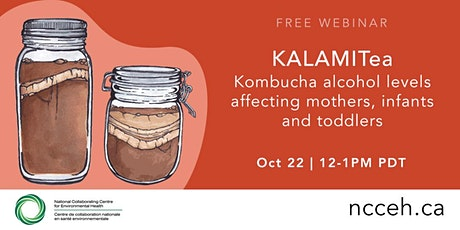 KALAMITea - Kombucha alcohol levels affecting mothers, infants and toddlers tickets