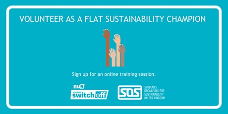Flat Sustainability Champion training - University of Liverpool tickets