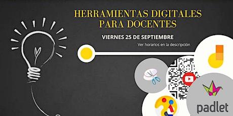 Webinar de Herramientas Digitales para Docentes entradas
